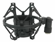 Rockville R-shock Black Metal Shock Mount Para Microfone De Estúdio Microfone Gravação