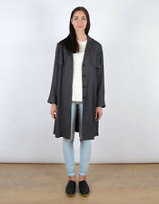 Just Female Trust Trenchcoat Trench Coat Size Small BNWT RRP £138 Anthracite