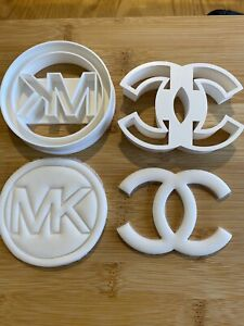 Mk /Michael Kors/ Chanel 3D Printed Set Of 2 Cookie Cutters