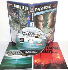 PES 2005 PRO EVOLUTION SOCCER 5 - Playstation 2 Ps2 Play Station Gioco Game Sony