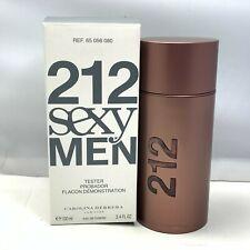 212 SEXY MEN By Carolina Herrera Eau De Toilette 100ml/3.4oz. New In Tst Box