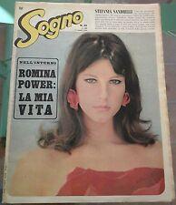 SOGNO 1966 STEFANIA SANDRELLI ROMINA POWER JACKIE KENNEDY ADAMO ROLLING STONES