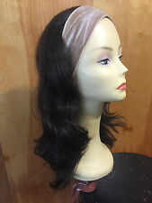 "Malky European 22"" Band Fall Wig Dark Brown  color 2  Medium cap"