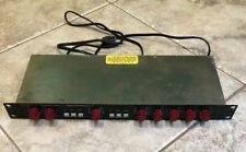 Furman Sound TX-3, Tunable Crossover, Band Pass Filter, Vintage Rack Pro Music