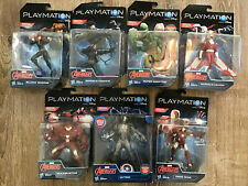 Lot of 7 Hasbro Playmation Disney Marvel Avengers Action Smart Figures New