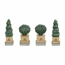 Department 56 General Village New 2019 Classic Christmas Shrubbery Set/4 6003194