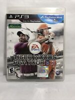 Tiger Woods PGA Tour 13 DVD VIDEO GAME Sony PlayStation 3 2012