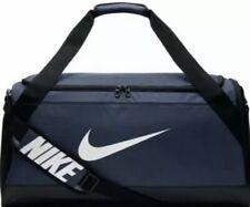 Nike Adult Brasilia 7 Midnight Navy/Black Duffel Bag Sz. Medium NEW BA5334-410