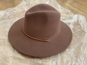Brixton X Lucas Beaufort Field Hat-wide Rimmed Hat - Brown