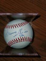 Bernie Williams Autographed Baseball JSA Cert