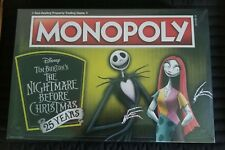 Monopoly: Nightmare Before Christmas 25th Anniv Board Game