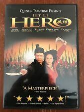 Hero (Dvd, 2004)*Jet Li Donnie Yen