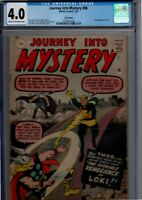 Journey Into Mystery # 8 (Marvel, 1963) CGC 4.0 Cream to off-white pages. uk edi
