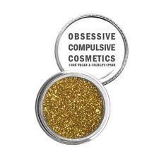 Obsessive Compulsive Cosmetics (OCC) Cosmetics Glitter -GOLD: Bright yellow-gold