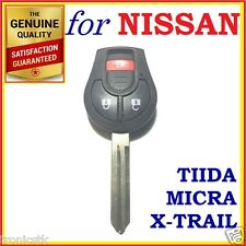 Nissan Tiida X-Trail Micra Remote Key Blank Replacement Shell / Case / Enclosure