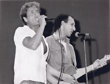 THE WHO PHOTO LIVE AID 1985 TOWNSHEND DALTREY HUGE UNRELEASED UNIQUE IMAGE 11INS
