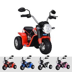 RiiRoo Kids 6V Chopper Electric Motorbike Battery Operated Bike Scooter