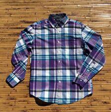 J.CREW Men's Casual Plaid Long Sleeve Shirt Medium