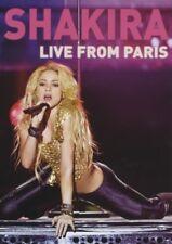 "SHAKIRA ""LIVE FROM PARIS"" DVD NEW+"