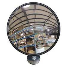 Zoro Select Dm-Cfm-6-Gl-M Convex Mirror,6 in dia,Magnet Mount