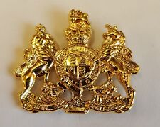 RSM WO1 ARMY -Gilt Metal Lapel Badge