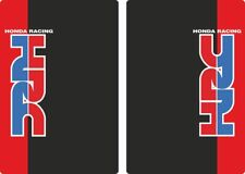 Honda Suspension Bike Upper Fork Decal Sticker Graphic Set Adhesive Red 2 Pcs