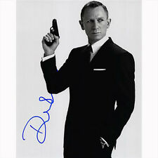 James Bond 007 Daniel Craig Original Autograph w/ COA