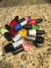 OPI Nail Polish #1 Lot of 12 Assorted Colors NO DUPLICATES Full Size 0.5 oz New