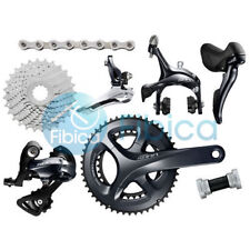 New Shimano SORA R3000 STI Road 2x9-speed 50/34T 28T Groupset Group