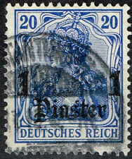German Levant rare classic stamp 1904 Constantinople Postmark