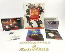 "Super Nintendo Spiel "" Final Fantasy III 3  + Players Guide "" Snes | Ovp | NTSC"