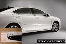 Lexus ES350 ES300H (2007-2017) OEM BODY SIDE MOLDINGS SET (Obsidian Black) (212)