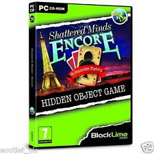 Shattered Minds: Encore (PC CD) Hidden Object Game BRAND NEW SEALED