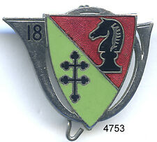 4753 - INSIGNE 18e CHASSEURS A CHEVAL 1939