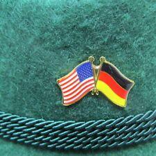 German-American Flags Oktoberfest Hat Pin
