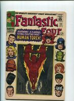 FANTASTIC FOUR #54  3rd Black PANTHER Inhumans app. FN-