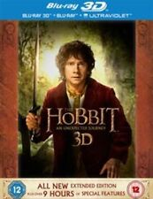 The Hobbit - An Unexpected Journey - Extended Edition (Blu-ray, 2013, 5-Disc...