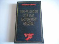 LE CRIME DE LA MAISON GRUN / JACQUEMARD- SENEGAL - LES CLASSIQUES DU CRIME