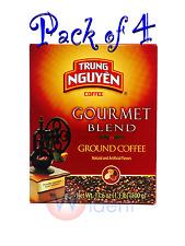 4Pk TRUNG NGUYEN Gourmet Blend Coffee 17.6 oz