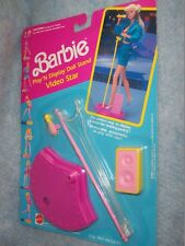 1991 Video Star Barbie- Play'N Display Doll Stand