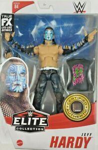 Jeff Hardy - WWE Elite 84 Mattel Toy Wrestling Action Figure
