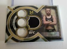 2018 UFC Museum Collection -- Rose Namajunas -- Gold Quad Relic #d 8/10