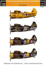 SBS Models Decals 1/72 POLIKARPOV I-153 CHAIKA FINNISH AIR FORCE Part 2