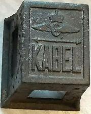 Kabelstein aus Länderbahnzeit