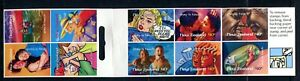 1998 New Zealand - Greetings! Stay in Touch Self Adhesive Stamp Booklet