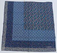foulard Louis Feraud paris pura seta 100% silk original made italy carré scarf