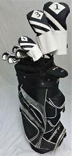 Mens Callaway Complete Golf Set Driver, Wood, Hybrid Irons Putter Cart Bag Reg