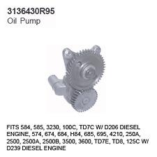 3136430R95 Case Tractor Parts Oil Pump IH 584, 585, 3230, 100C, TD7C D206 DIESEL