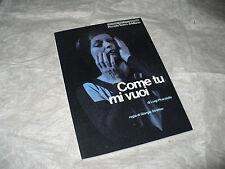 PICCOLO TEATRO MILANO COME TU MI VUOI PIRANDELLO STREHLER PROGRAMMA 1988/1989