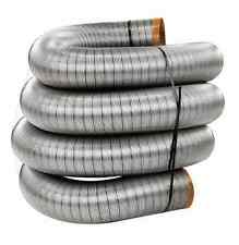 """HomeSaver Pro 17519 Stainless Steel Relining Pipe 4""""x35' Chimney Liner*"""